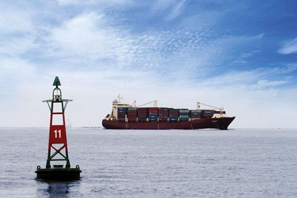 Thông báo hàng hải số 14/TBHH-TCTBĐATHHMN ngày 10/02/2015 về độ sâu luồng Định An