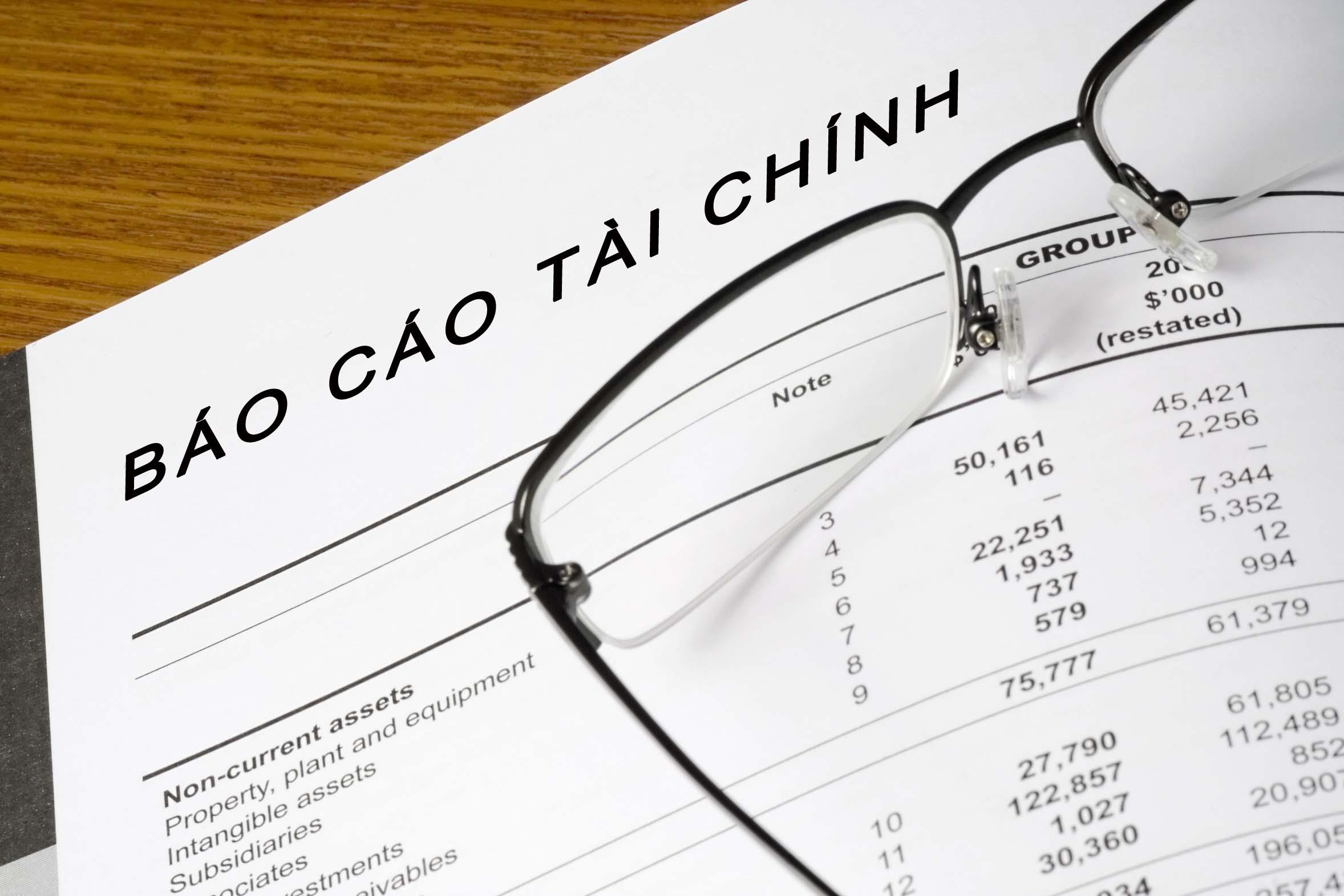 Báo cáo tài chính giữa niên độ 6 tháng đầu năm 2014