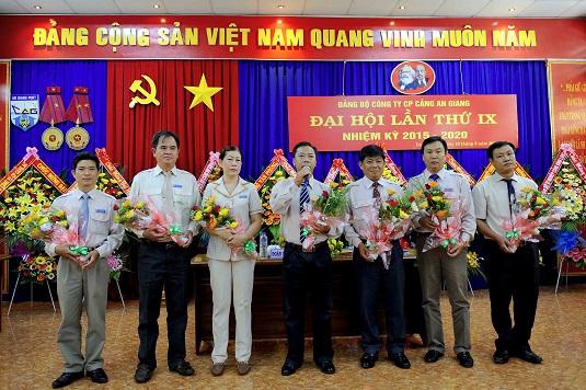 Đại Hội Đảng Bộ Công Ty CP Cảng An Giang lần thứ IX nhiệm kỳ 2015 - 2020